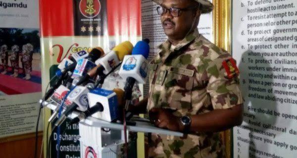 IPoB/ESN elements killed in 2 weeks - Nigerian Military