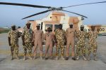 Theatre commander motivates soldiers at North-East frontline, assures them of Yahaya's promise of reward for gallantry